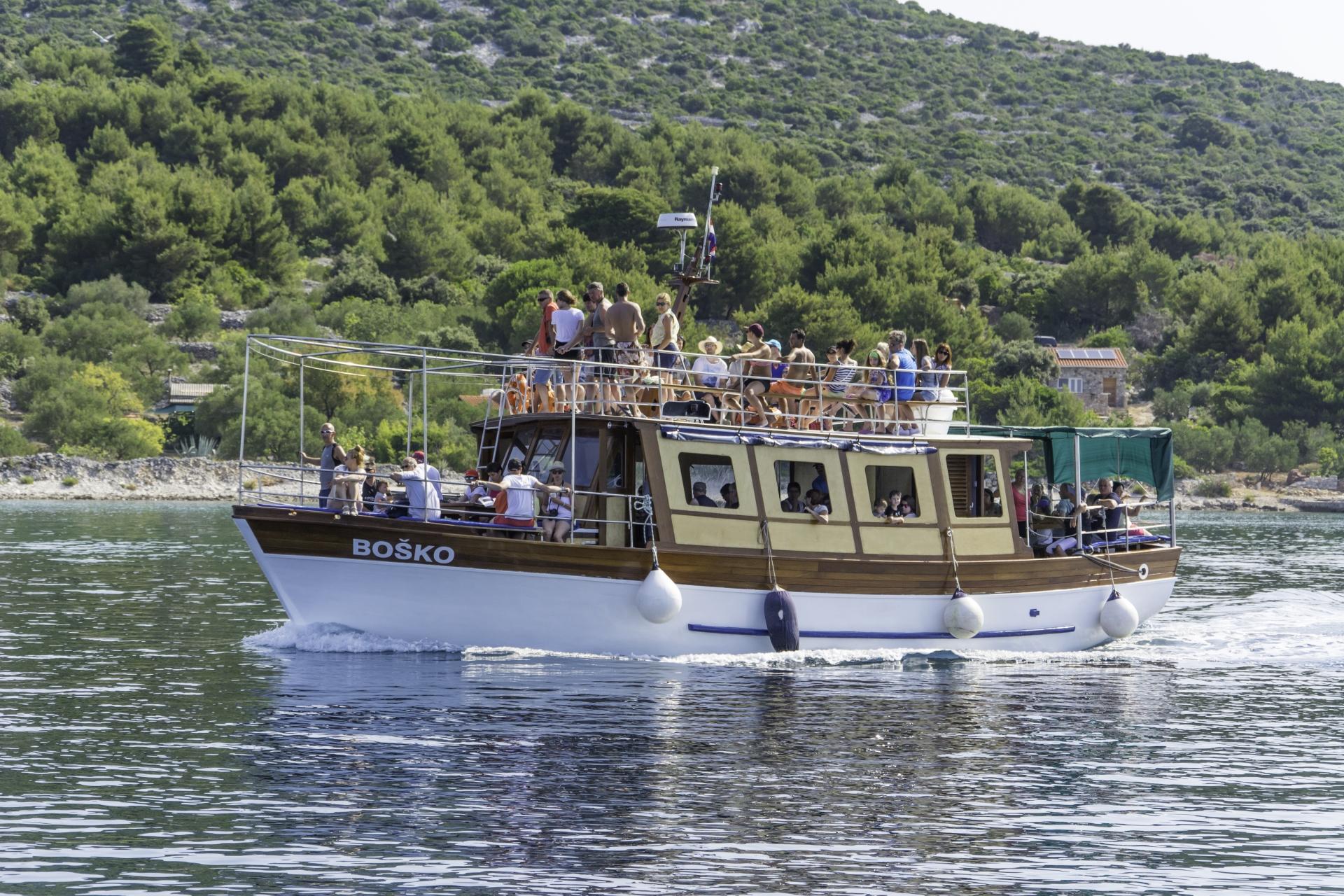 Boat Kornati island